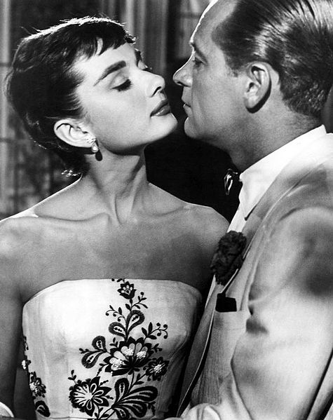 Audrey Hepburn e William Holden - Sabrina - Wikipedia