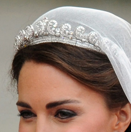 Halo Tiara - Catherine Middleton - April 29- 2011