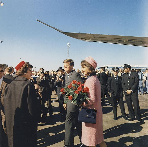 Jacqueline Kennedys,  Dallas, 1963 - Wikipedia