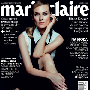 Diane Kruger brilha com joias H.Stern na Marie Claire