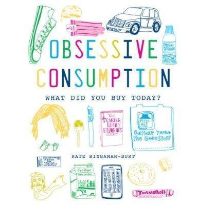 Artista retrata em livro suas compras compulsivas