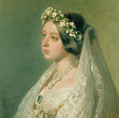 Queen Victoria - Franz Xavier Winterhalter - 1847