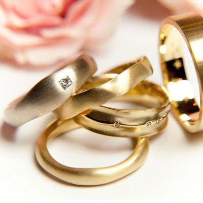 Alianças para casais de todos os estilos