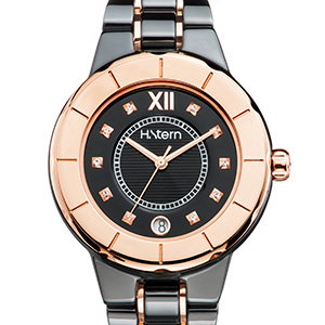 A elegância da cerâmica nos relógios femininos H.Stern