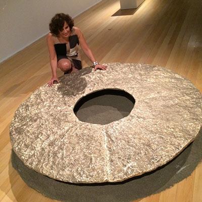 The Circle of Gold – uma das atrações da exposição Ouro