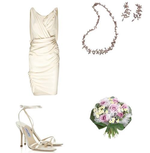 Que tal casar de vestido curto?