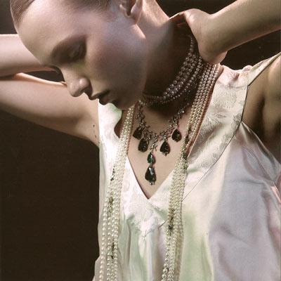 Novas formas de usar joias com pérolas